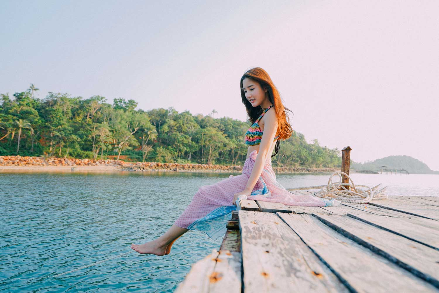 lady journey koh talu island