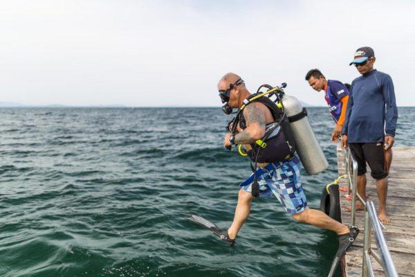 scuba diving koh talu bangsaphan
